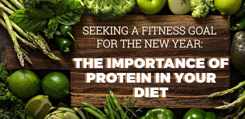 Importance protein your diet
