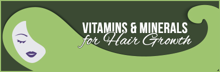 vitamins and minerals for hair growth divider graphic